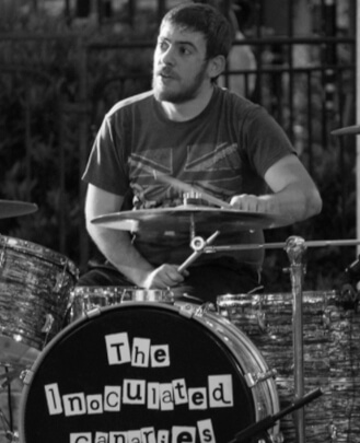 Music teacher James Terranova at School of Rock Syosset