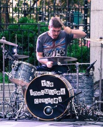 Music teacher James Terranova at School of Rock