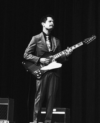 Nicolas Pequeño is a guitar teacher, bass teacher and keys instructor at School of Rock Champion Forest