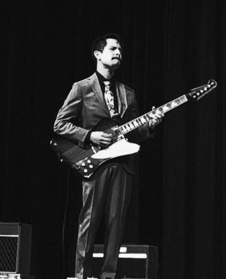Nicolas Pequeño is a Guitar Teacher, Bass Guitar Teacher, and Keyboard Teacher at School of Rock Sugar Land