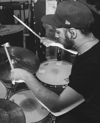 Drum Teacher Robert Diaz