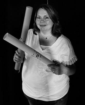 Studio Coordinator, Sandra Hall