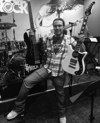 Guitar, Bass and Keyboard Instructor James Lyon